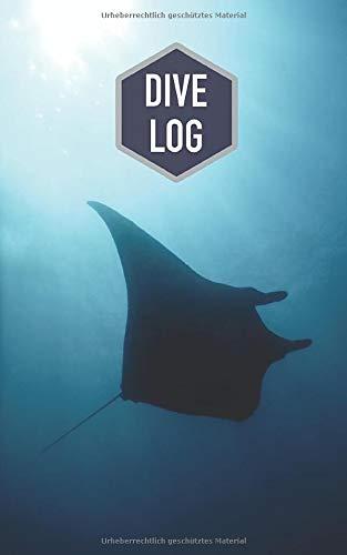 Dive Log: Tauchlogbuch für 100 Tauchgänge