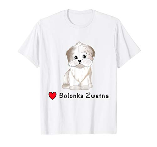 Bolonka Tshirt Bolonka Zwetna Hund Shirt T-Shirt