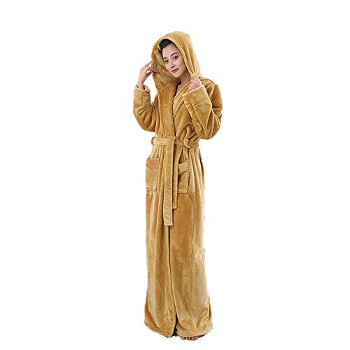 Dames Pacifische Stijl Heren Volledige Lengte Hooded Turks Katoen Badjas, Robe Luxe Terry Handdoek Dressing Jurk