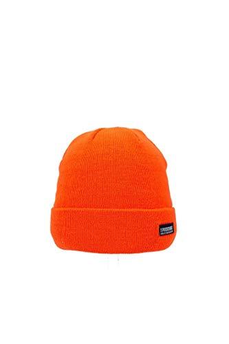 Poederbaas Heren Muts Colorfull Basic CB06 Orange ONE SIZ