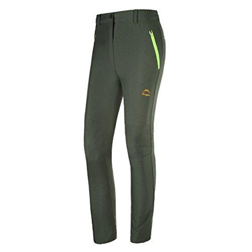 emansmoer - Angel-Hosen für Damen in Armeegrün, Größe XL