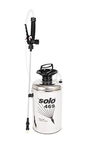 Solo 469 Handheld Stainless Steel Professional Tank Sprayer, 2-Gallon