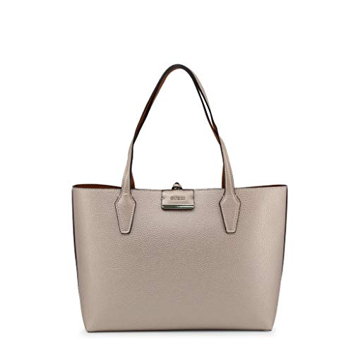 GUESS Bobbi Inside Out Tote Pale Bronze/Cognac