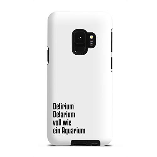 artboxONE Tough-Case Handyhülle für Samsung Galaxy S9 Delirium Delarium von AB1 Edition
