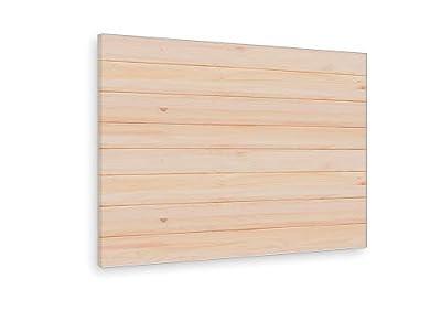 Cabecero de madera de estilo nórdico, adaptable a cualquier tipo de cama y de sencilla limpieza. Cabezal de madera fabricado manualmente con madera de pino maciza procedente de bosques sostenibles. Cabecero de cama para dormitorios juveniles y de mat...