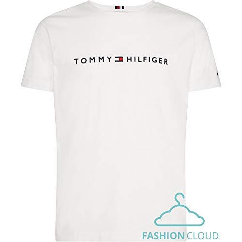 Tommy Hilfiger Męski T-shirt, Biały