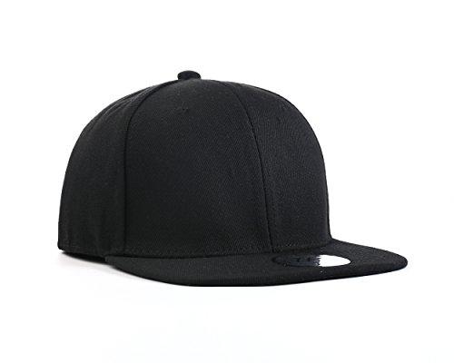 UNDERGROUND KULTURE Casquette Snapback de Baseball Unie Noire