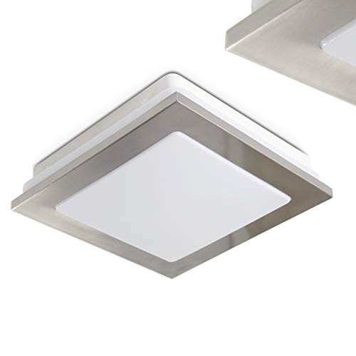 Plafón LED cuadrado Brescia