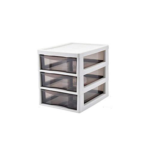 ROSG Schmuckschatulle , Makeup Organizer für Desktop, Aufbewahrungsbox Mehrschichtige Schublade, 3 Schichten Transparent Passend für Lippenstifte, Makeup Pinsel, Parfüm und mehr