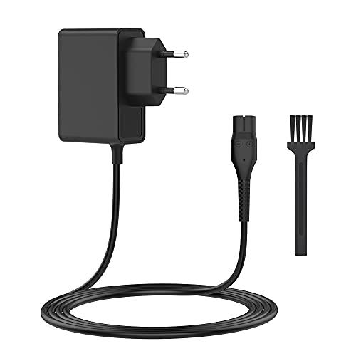 BERLS Caricabatterie 4.3 V Per Philips OneBlade QP2520, QP2520/90, QP2520/72/70, A00390, QG3340, RQ320, RQ328, RQ330, RQ331, RQ338,RQ350, S510