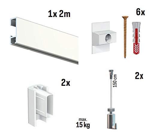 Kit para colgar cuadros en blanco TWISTER RATCHET: Amazon.es: Bricolaje y herramientas