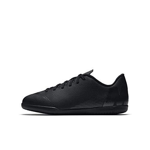 Nike JR Vapor 12 Club GS IC, Zapatillas de fútbol Sala Unisex Adulto, Negro (Black/Black 001), 38 EU