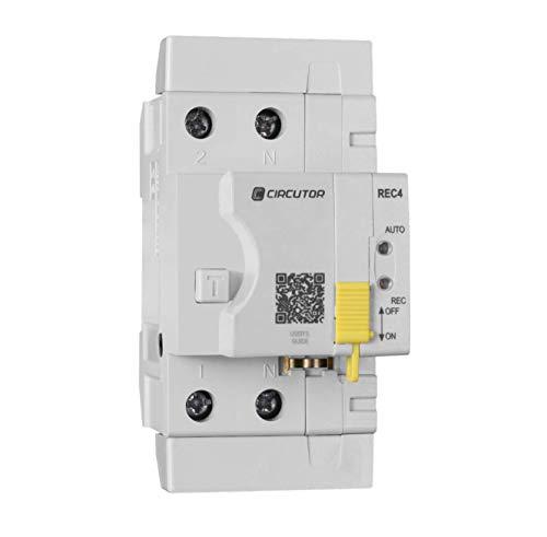 Interruptor diferencial rearme automático REC4 2P-40-30