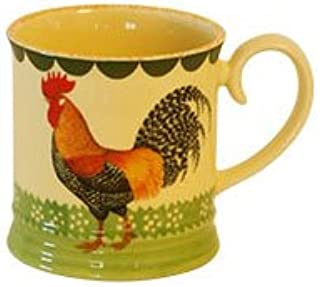 Fairmont and Main - Juego de Tazas (cerámica, 4 Unidades), diseño de Gallo, Color Crema