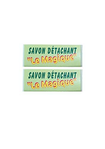 """Grenadine Boutique - Savon détachant"""" Le Magique"""" au Fiel de Boeuf - Lot de 2 savons 65g - CK Diffusion"""