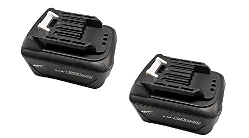 CYDZ 2PCS BL1040B 197402-0 batteria Sostituire per Makita Sound Devices DMR107 DMR108 DMR200 Makita Light Hammers HR140D HR140DZ HR140DSMJ HR166D HR166DZ 4000mah compatibile con 10.8V&12V BL1041B