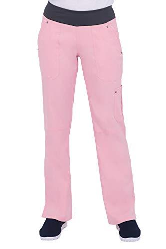 healing hands 9133 Women's Tori Yoga Waistband Pant Ballet Pink/Pewter XSP