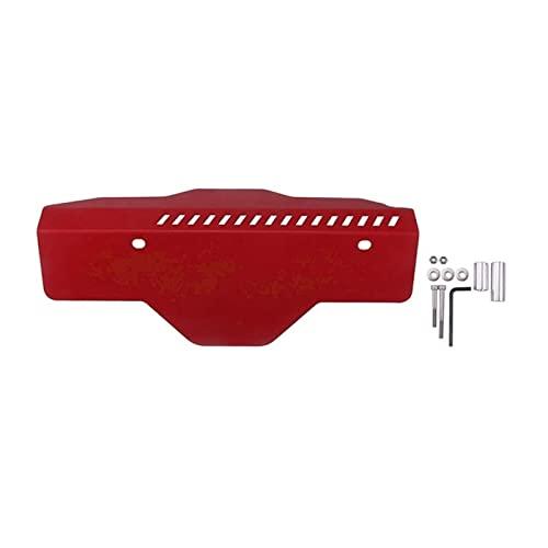 Prospective Cinta del generador de Coches Cinturón de la polea Cubierta de la polea Protección de la polea Accesorios for automóviles Ajuste for Subaru WRX s TI 2002-2017 (Color : Red)