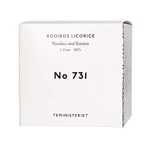 Teministeriet TM-731P Rooibos Zoethout Vuldoos voor Losse Thee Pot, Multi kleuren