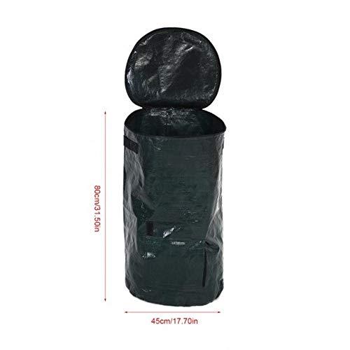 Lowest Prices! Yard Waste Bags Grow 2 Sizes Organic Waste Kitchen Garden Yard Compost Bag Environmen...