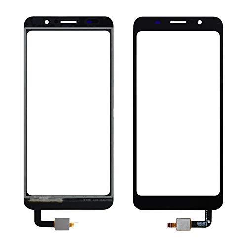 MOLIBAIHUO Compatible con 5.5'HomTom C8 Touch Pantalla táctil Digitalizador Accesorios para teléfonos móviles Touch Lens Sensor + Herramientas + Adhesivo Pantallas táctiles