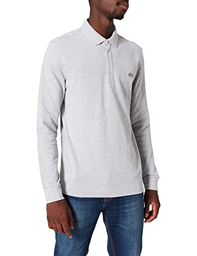 Lacoste PH2481 T Shirt Polo, Argent Chine, L Uomo