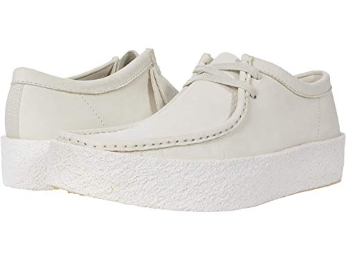 Clarks Wallabee Cup White Nubuck 13 D (M)