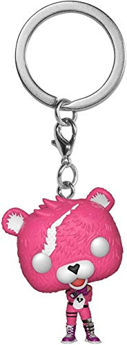 Funko- Pocket Pop Keychain: Fortnite: Cuddle Team Leader, 35717, Multicolore