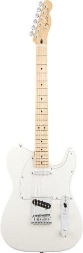 Fender フェンダー スタンダードテレキャスター アーティクルホワイト Standard Telecaster, Maple Fretboard - Arctic White[並行輸入]