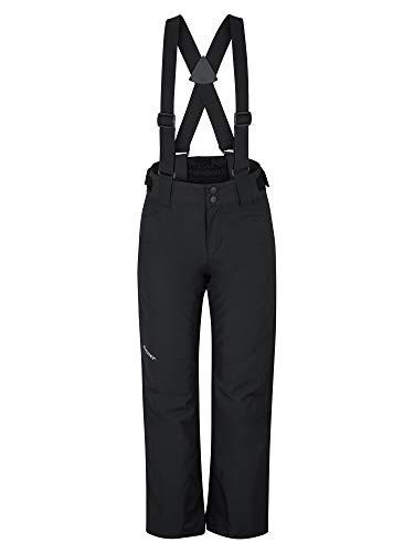 Ziener Kinder ARISU Junior Skihose, Winterhose | Wasserdicht, Winddicht, Warm, Black, 116