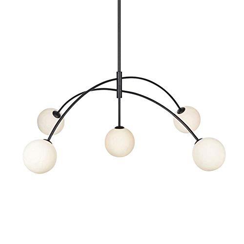 Lámpara colgante vintage creativa Lámpara Sputnik contemporánea Lámpara colgante de mediados de siglo Lámpara colgante LED para comedor en casa Sala de estar Dormitorio