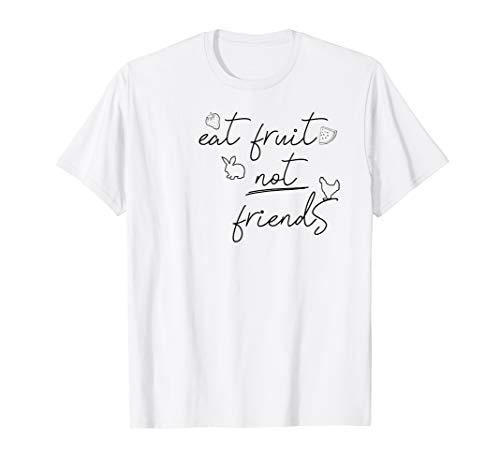 Lustiger Veganerin Spruch Geschenk Vegan Tierschutz T-Shirt