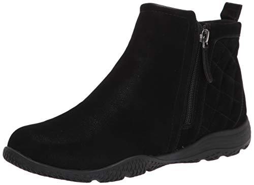Easy Spirit Women's seBraven3 Ankle Boot, Black 001, 9