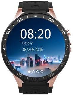 Kingwear KW88 Android 5.1 Quad Core 4GB Bluetooth 3G Smart Wrist Watch, SIM, GPS, Camera, WIFI - Gold