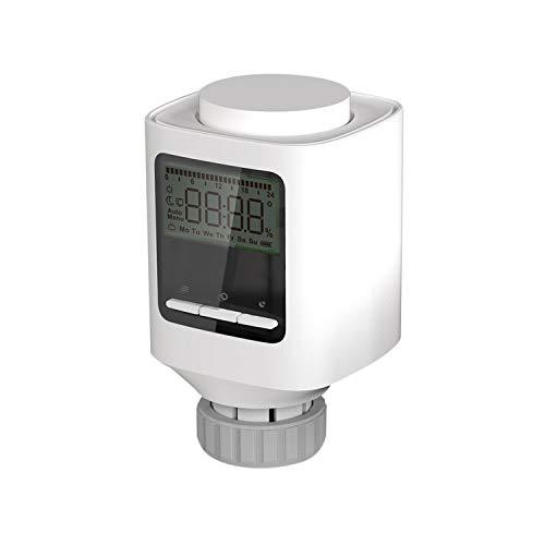 tellaLuna ZigBee Controlador de temperatura Termostato Radiador Soporta TuyaSmart Control para control de voz a través de Alexa Home
