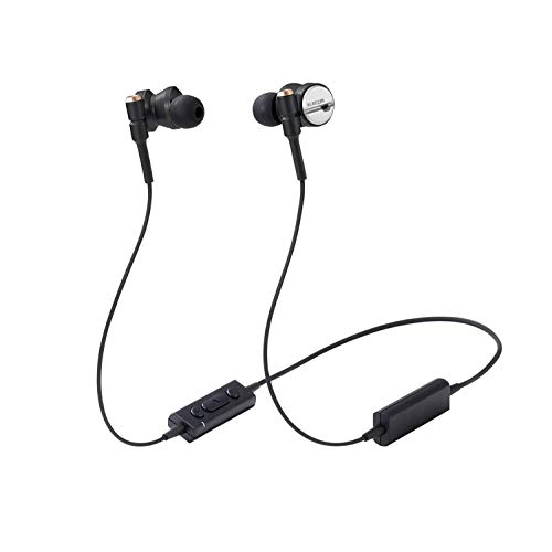 "ELECOM Bluetooth Wireless Earphone ""Grand Bass"" (Black)..."