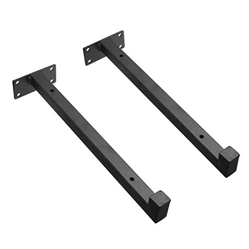XSHBHD 2 Pieces Of Wall-mounted Shelf Heavy Bracket Scaffolding Floating Bracket Industrial Iron Support Table 20cm / 25cm / 30cm (Color : 25cm)