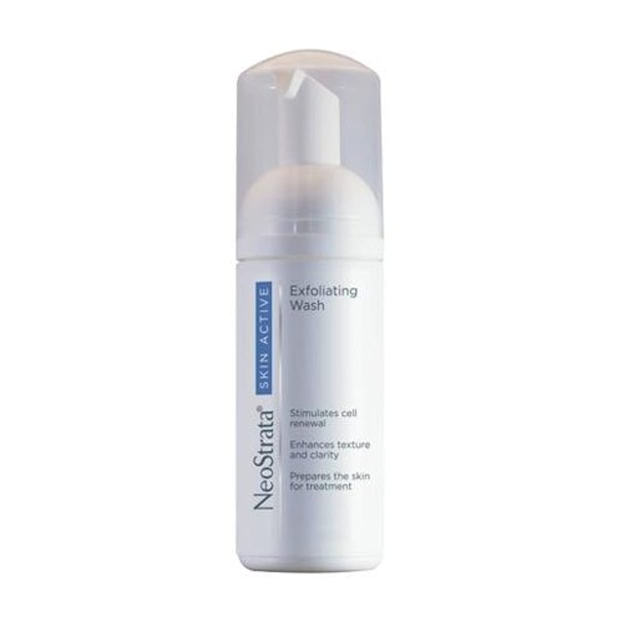 化粧ストローク路地Neostrata Skin Active Exfoliating Wash 125ml [並行輸入品]