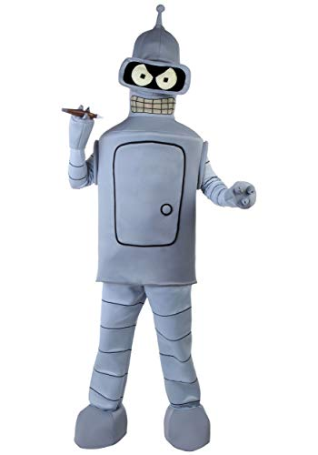 Adult Bender Fancy Dress Costume X-Large