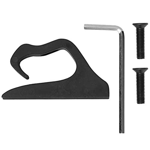 Accesorios de Scooter Gancho de Gancho de Alta Carga para Xiaomi365 M187 Pro Negro 10 * 6 * 1.5CM