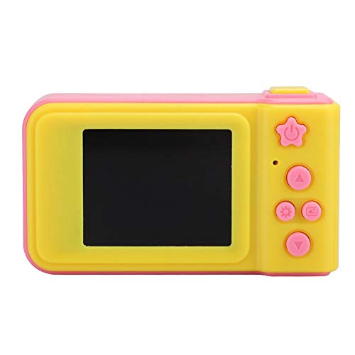 Ginyia Camera Toy, Digital Camera, Intelligent Mini Camera, Sports Camera, for Children of All Ages, for Kid for Childen,(Pink (Without Memory Card))