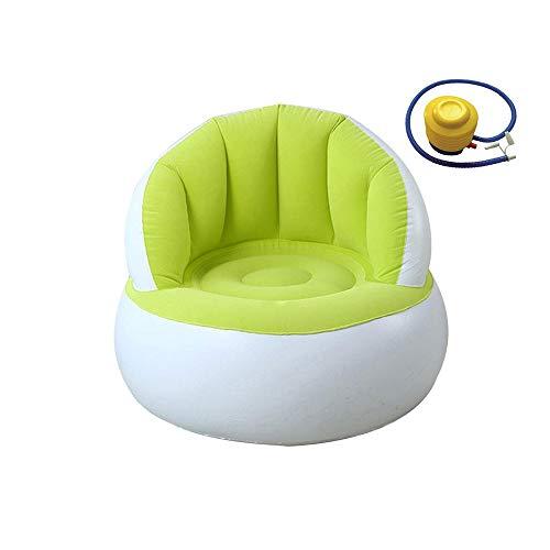 SJYDQ Kinderheim Camping Aufblasbares Sofa Lazy Bag Ultraleichter Air Chair...