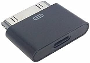 Savings-USA -2018 Model Black Lightning 8 Pin Female to 30 Pin Male Adapter for iPhone 3 4S iPad 3 iPod Touch 4