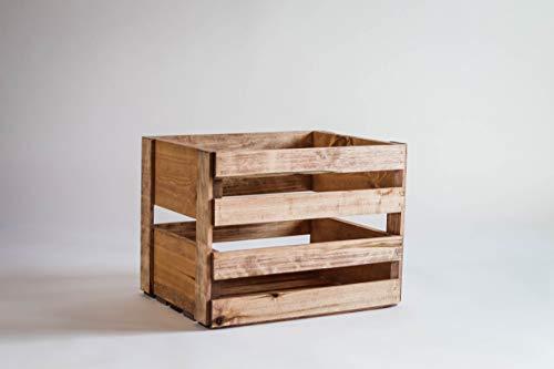 Darla'Studio 66 Vinyl Record Holder Wood Crate