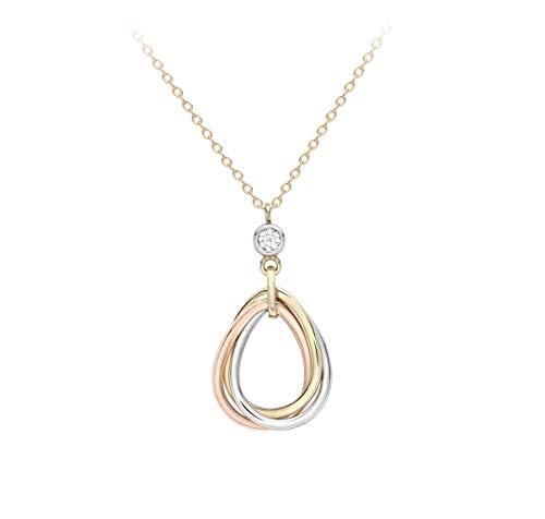 Carissima Gold Collar Corto Mujer Oro Tricolor - 3.19.8634