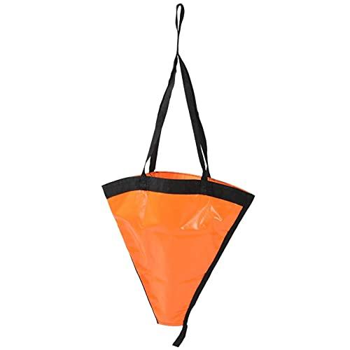 LGR Juego de Flotador de Ancla de Barco portátil de 24 Pulgadas, Accesorio para yate, Bote de Goma, Barco de Pesca de Vela de Potencia Inflable Ka