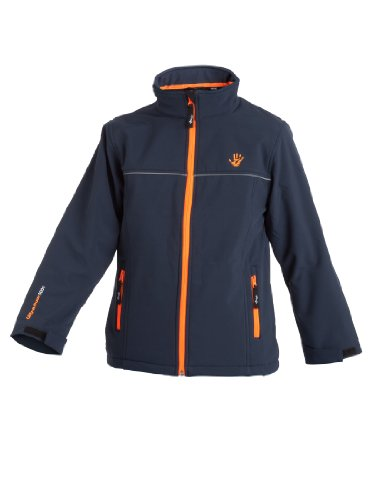 Ultrakidz Kinder Softshelljacke Lollipop,  Navy, 128/134  (8 Jahre), 1300-160