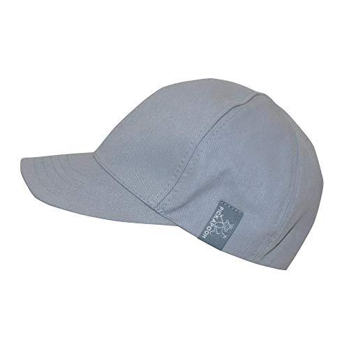 PICKAPOOH Cap mit UV-Schutz Bio-Baumwolle, Grau Gr. 50