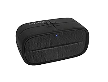 SoundBot SB572 Bluetooth 4.1 Wireless Speaker for 8hrs Music Streaming and Hands-Free Calling Premium Driver Passive Radiator Bass Built-in Mic and Battery 3.5mm Audio Port for Indoor Outdoor