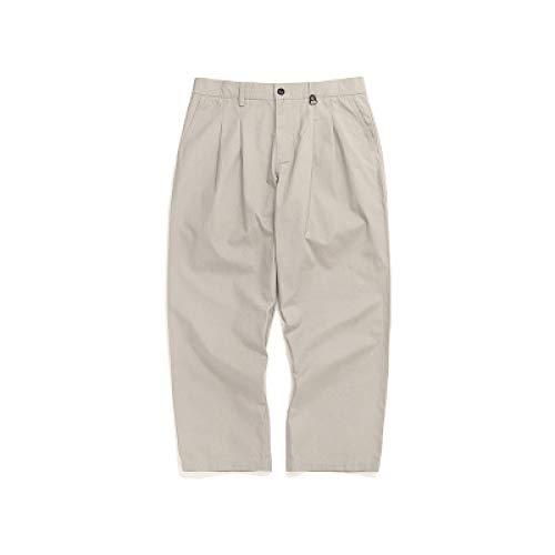 Pantalones de Hombre Retro Color sólido Estilo Minimalista Monos Salvajes Pantalones de Resistencia Pantalones de Trabajo de Combate de Carga para Hombre 32